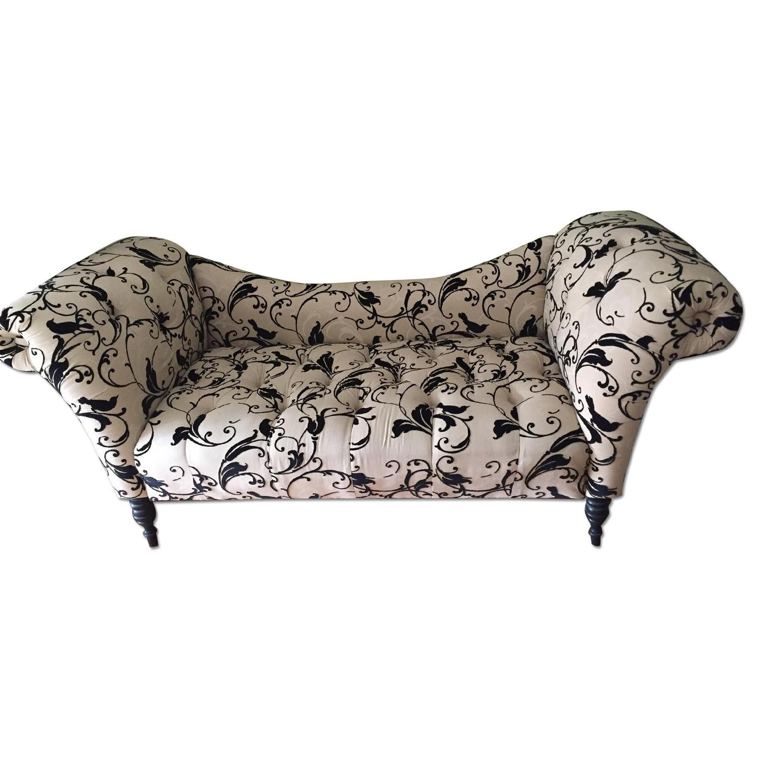 Urban Outfitters Printed Chaise Lounge in Black & Tan - image-0