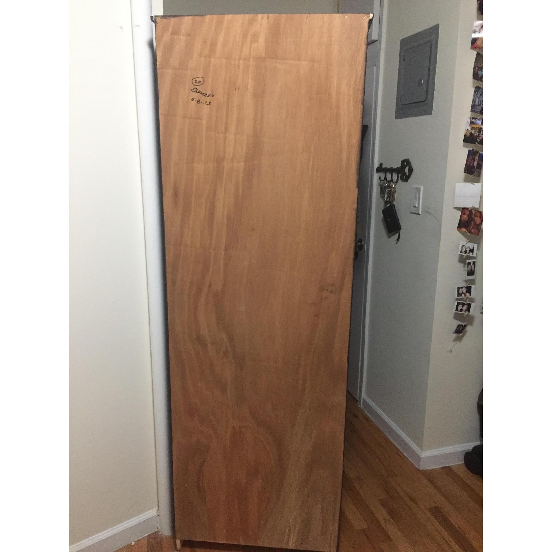 Custom-Built Espresso Wood Bookcase - image-4