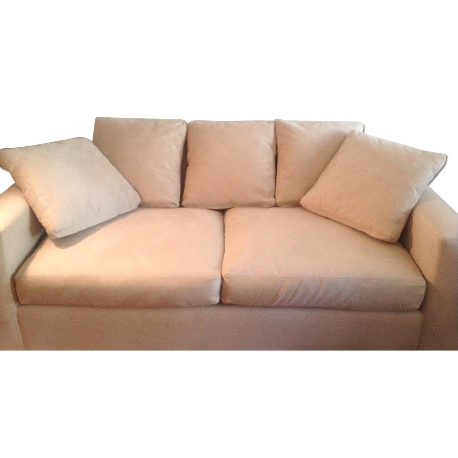 Room & Board Microsuede Couch - image-3
