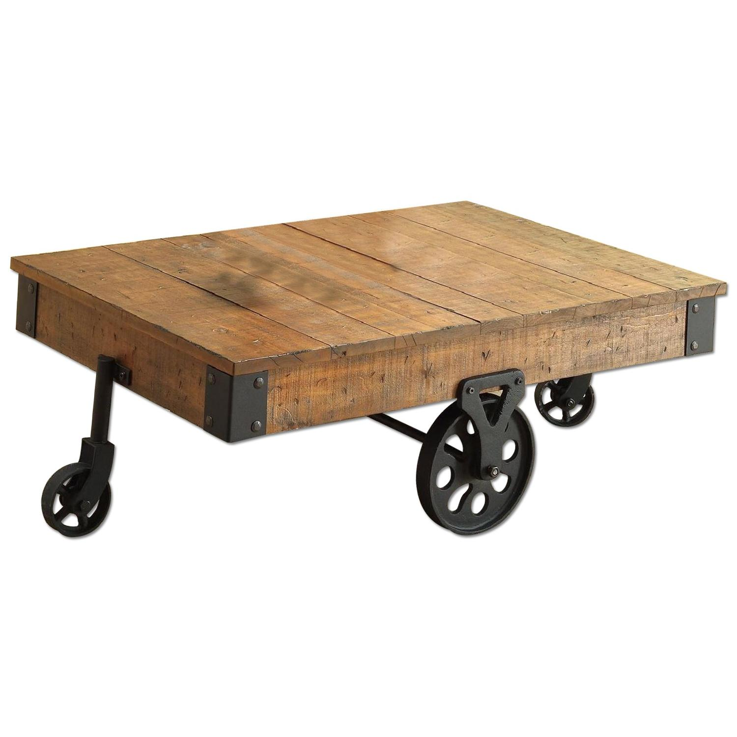 Whimsical Distressed Country Wagon Coffee Table AptDeco : 1500 1500 frame 0 from www.aptdeco.com size 1500 x 1500 jpeg 128kB