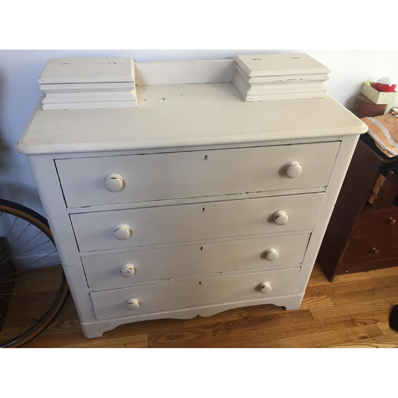 Shabby Chic 4 Drawer Dresser - image-1