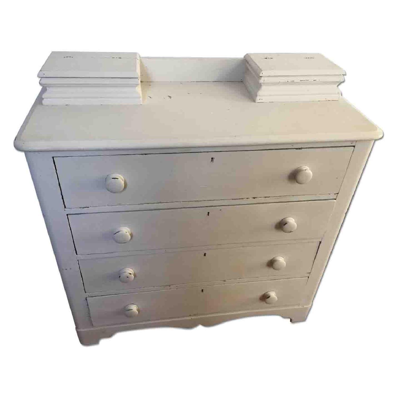 Shabby Chic 4 Drawer Dresser - image-0