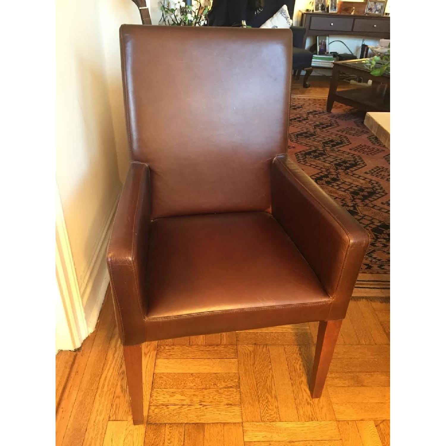 Leather Dining Room Chairs - image-1