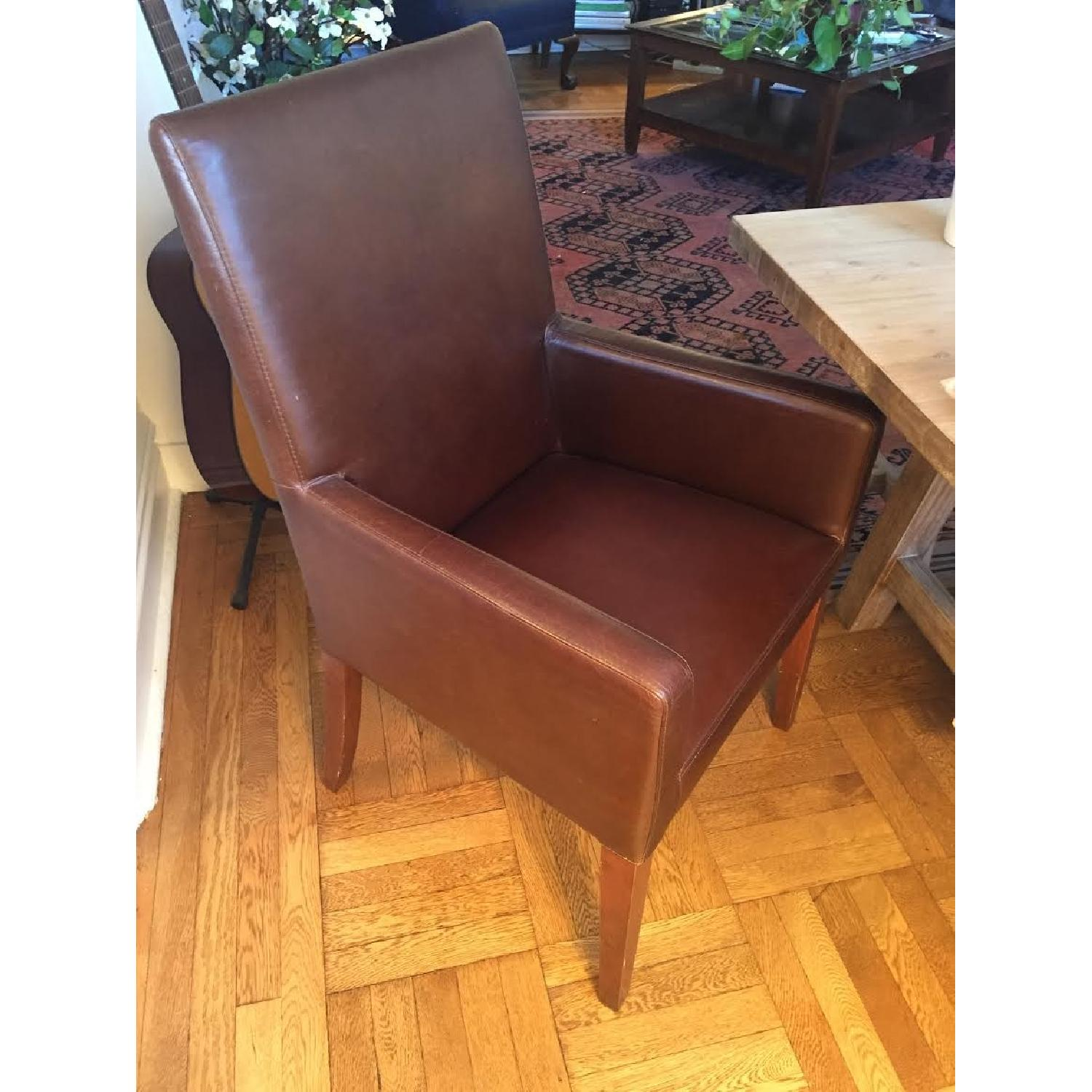 Leather Dining Room Chairs - image-2