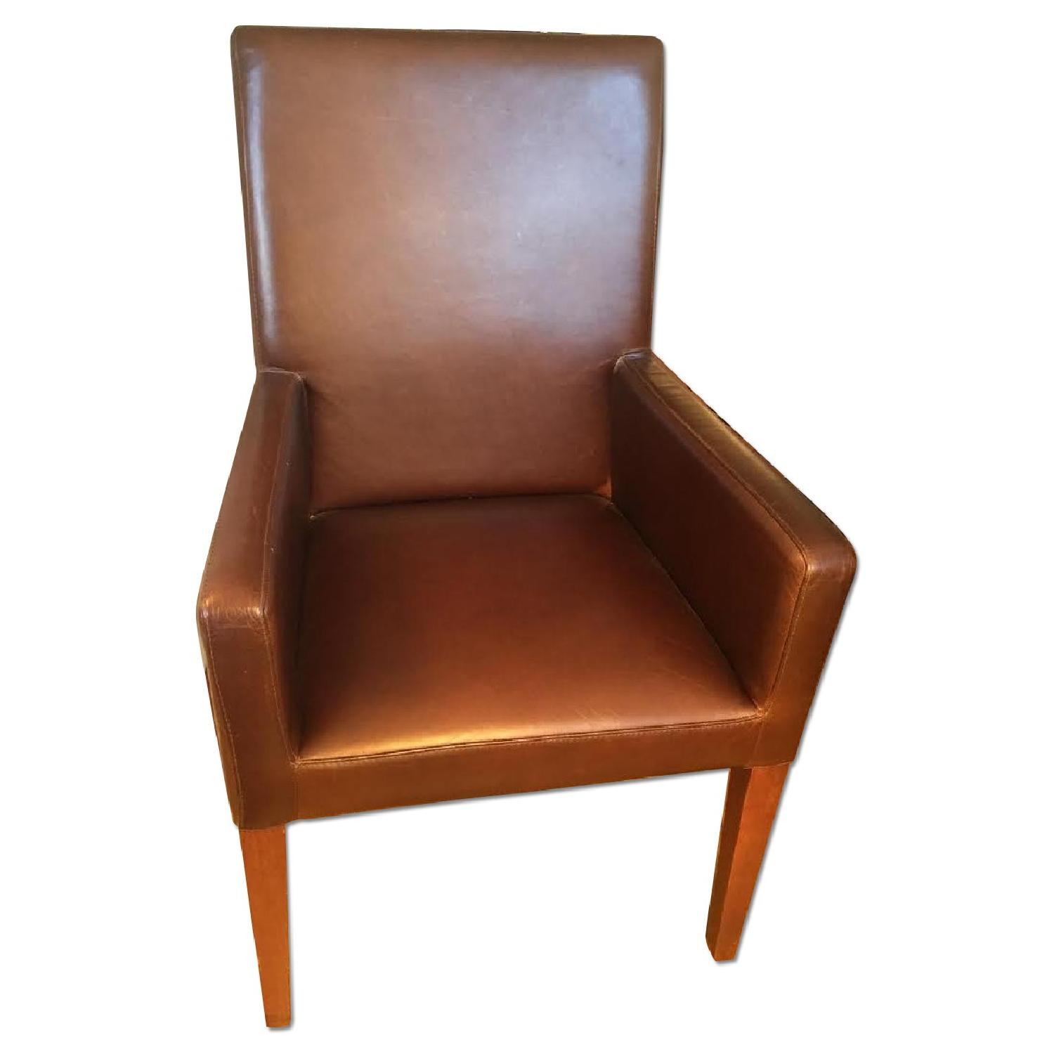 Leather Dining Room Chairs - image-0