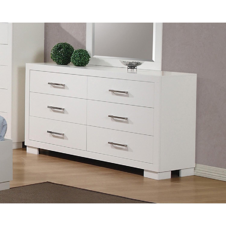 Modern 6-Drawer Solid Wood Dresser w/ Dove-Tail & Full Exten - image-0