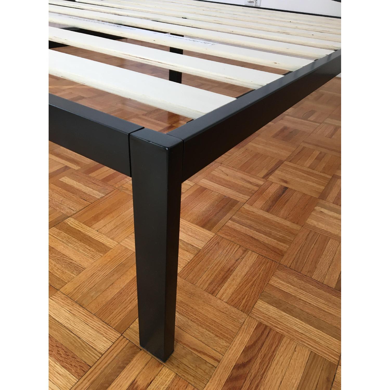 Zinus Platform Full Size Metal Bed Frame w/ Wooden Slat Support - image-3