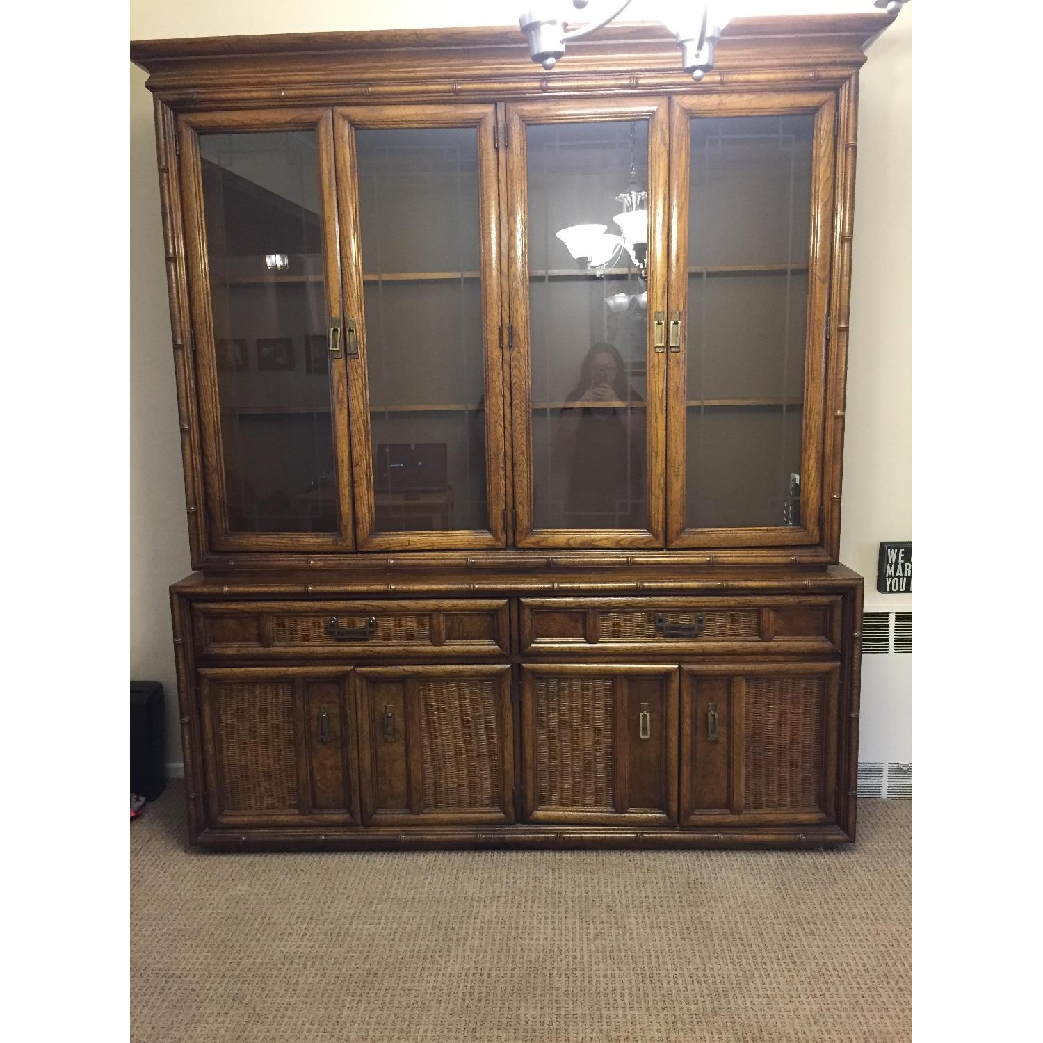 Large Dining Room China Cabinet - image-1