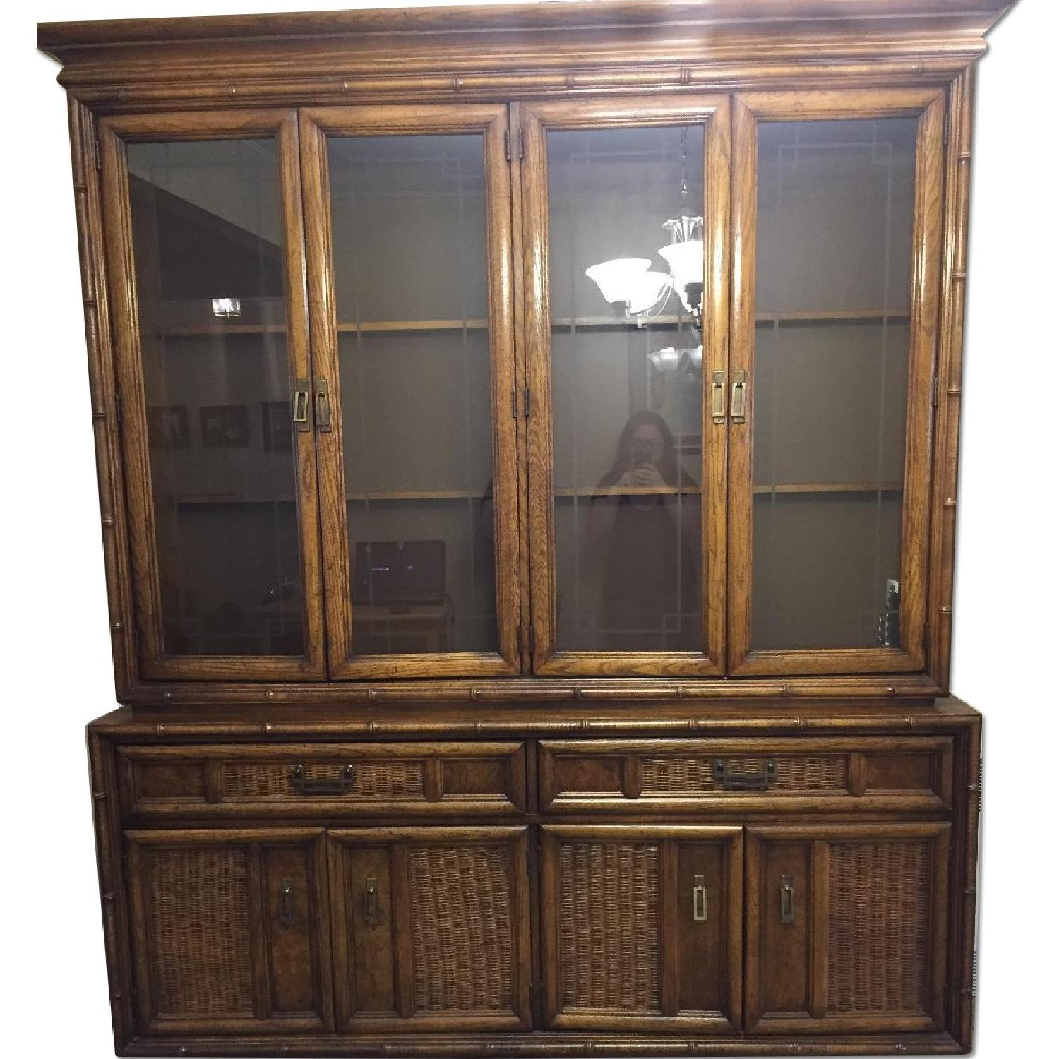 Large Dining Room China Cabinet - image-0