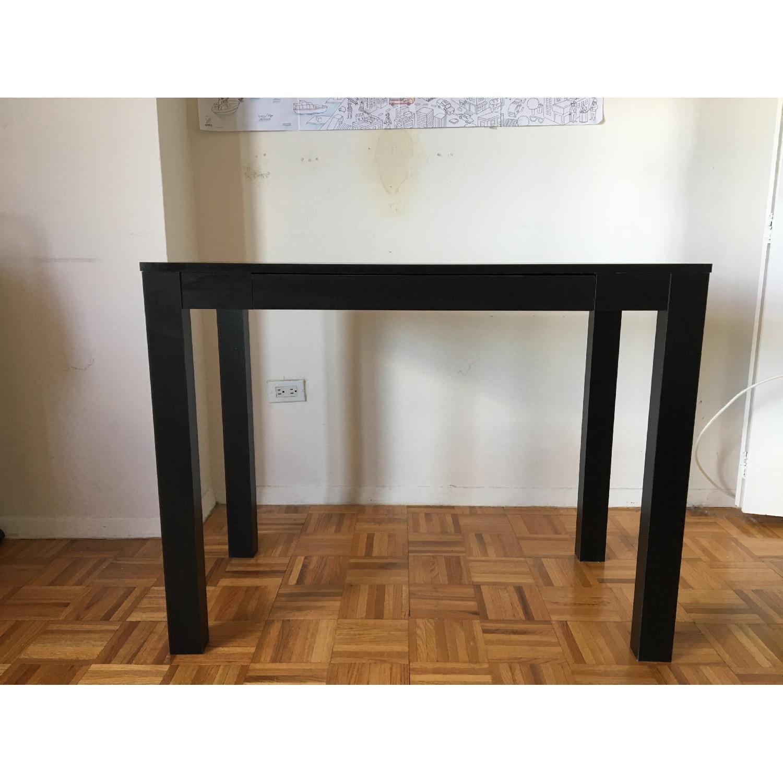 Altra Furniture Parsons Desk w/ Drawer in Black - image-1