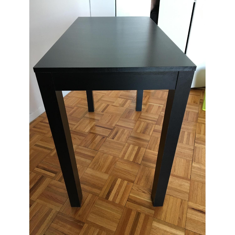 Altra Furniture Parsons Desk w/ Drawer in Black - image-2