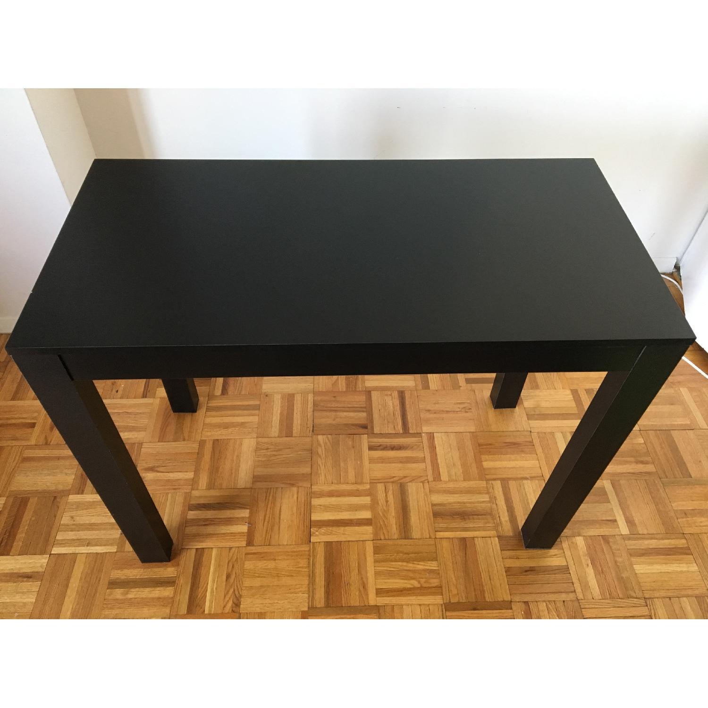 Altra Furniture Parsons Desk w/ Drawer in Black - image-3