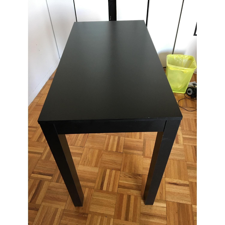 Altra Furniture Parsons Desk w/ Drawer in Black - image-4