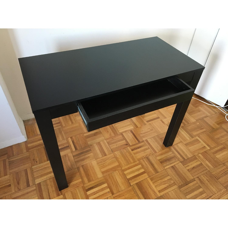 Altra Furniture Parsons Desk w/ Drawer in Black - image-5