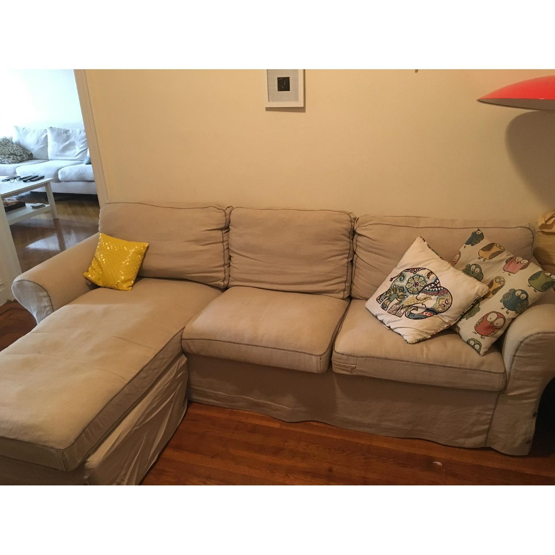 Ikea 2 Piece Sectional Sofa - image-1