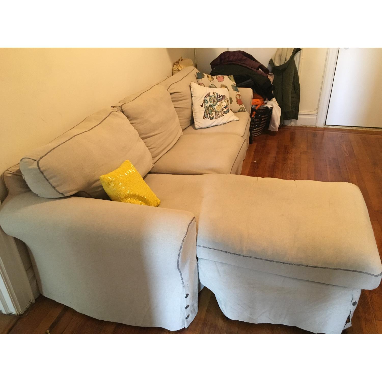 Ikea 2 Piece Sectional Sofa - image-2