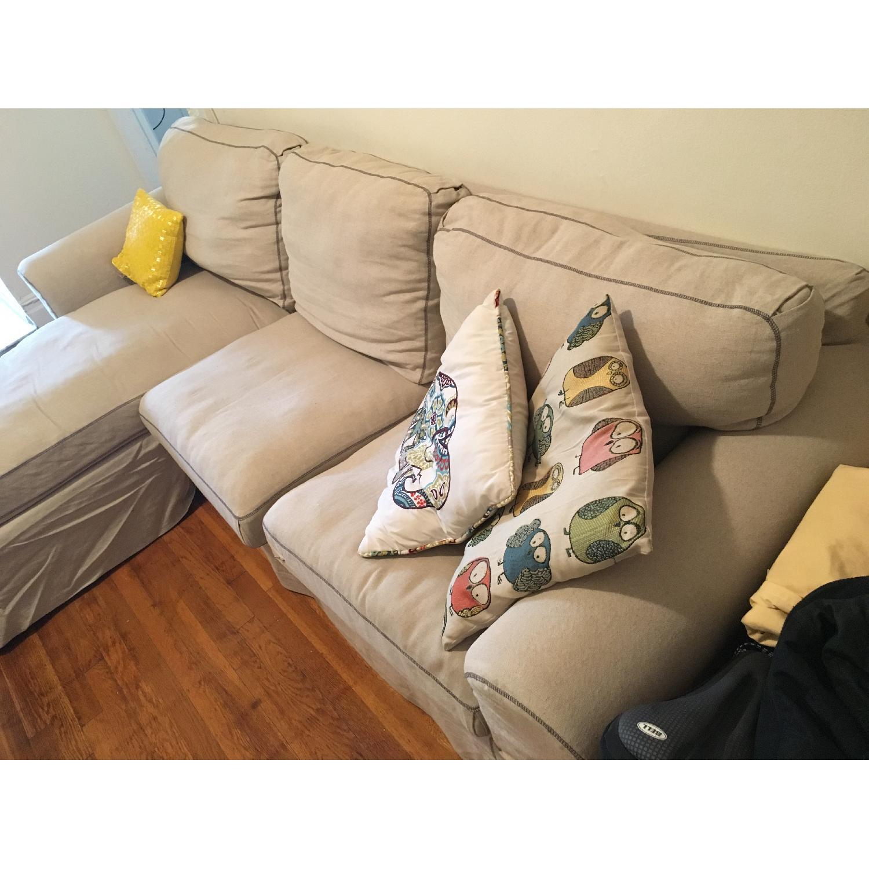Ikea 2 Piece Sectional Sofa - image-3