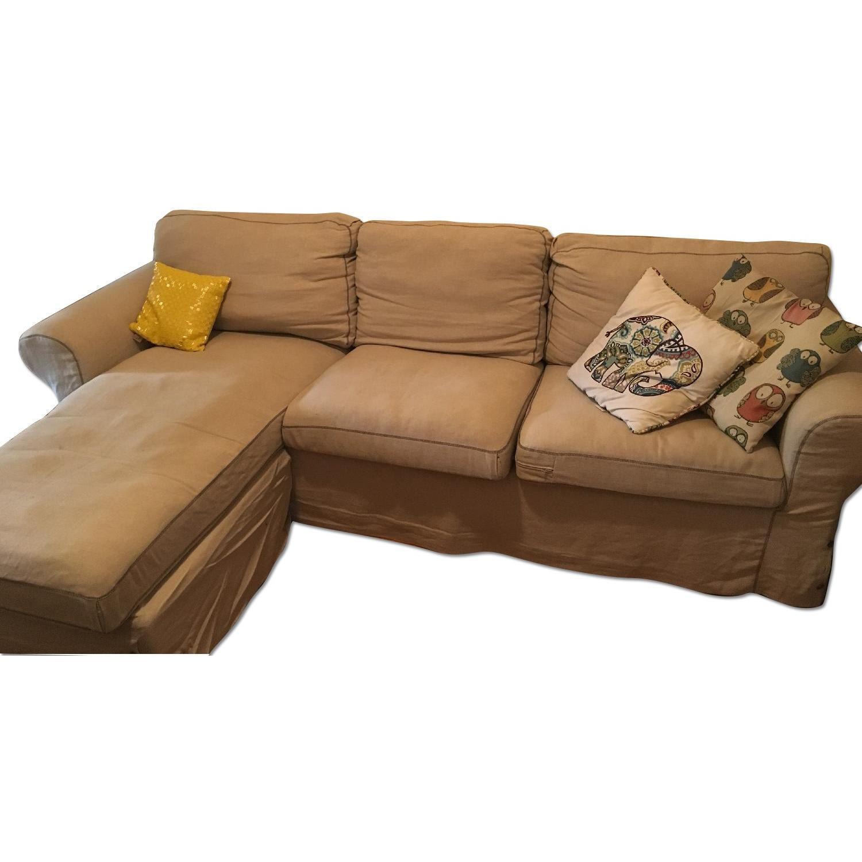 Ikea 2 Piece Sectional Sofa - image-0