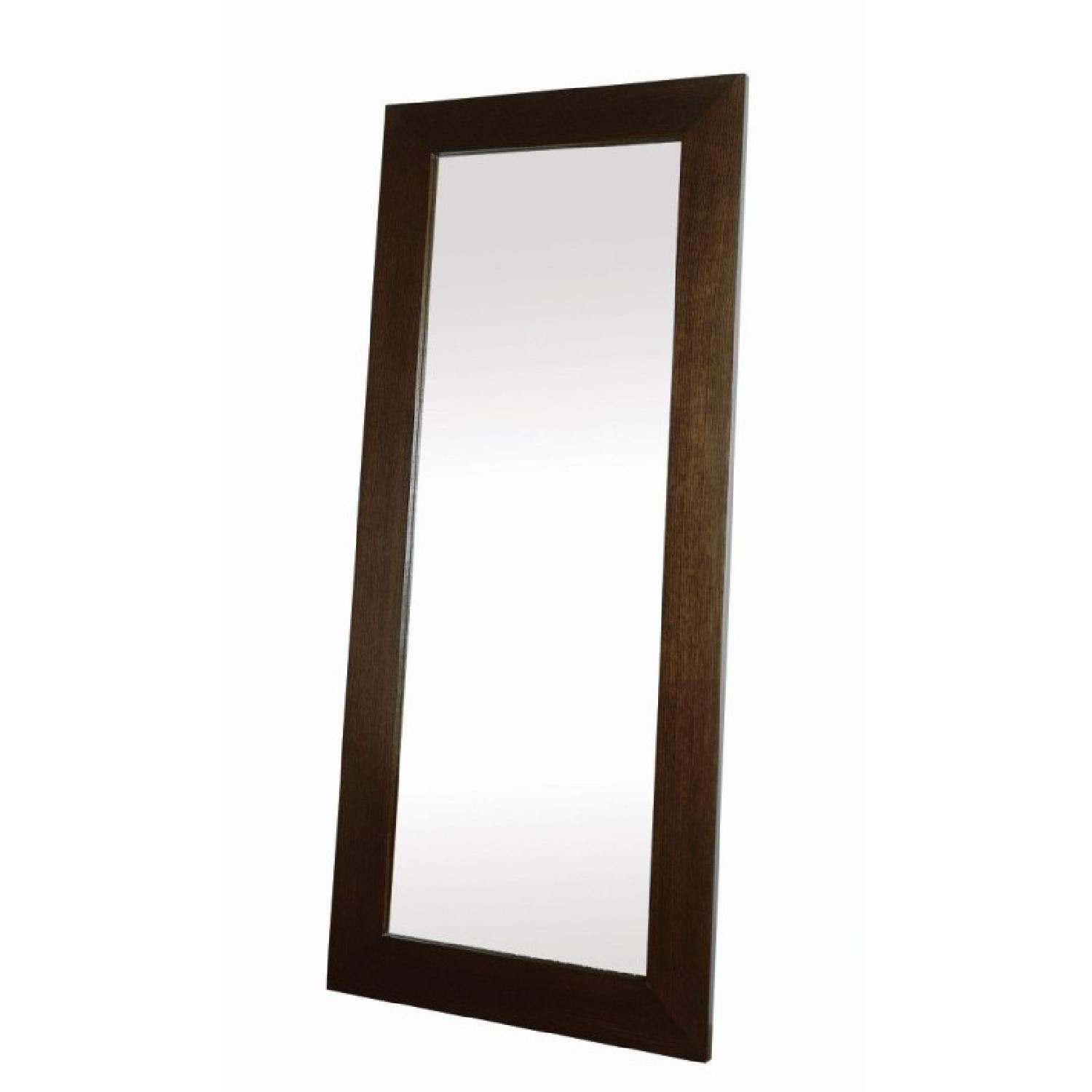 Large Standing Mirror w/ Fully Encased Back