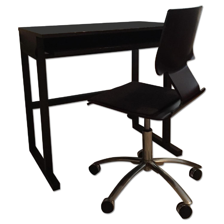 West Elm Desk & Desk Chair - image-0