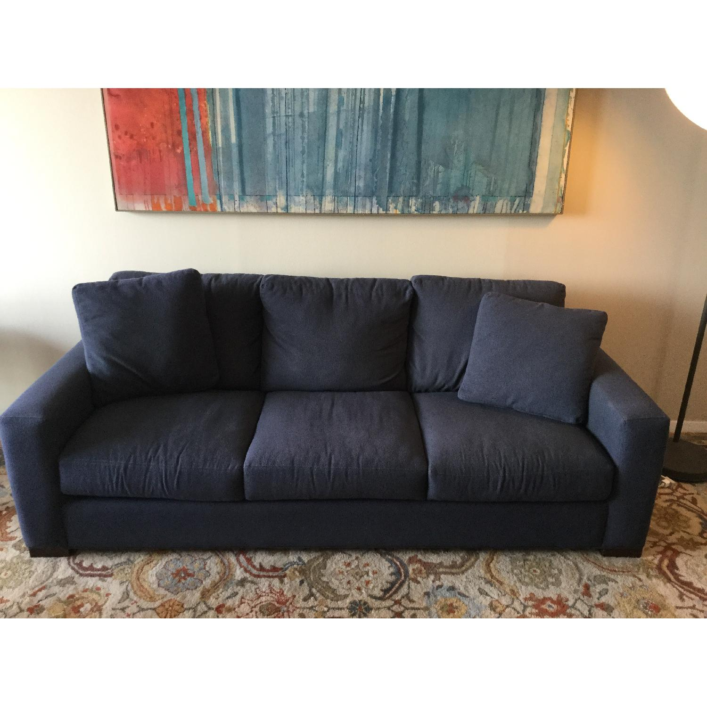 Room & Board Metro Midnight Blue Sofa - image-1