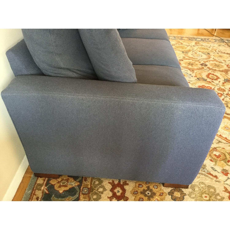 Room & Board Metro Midnight Blue Sofa - image-2