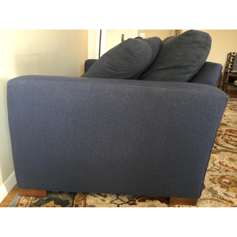 Room & Board Metro Midnight Blue Sofa - image-4