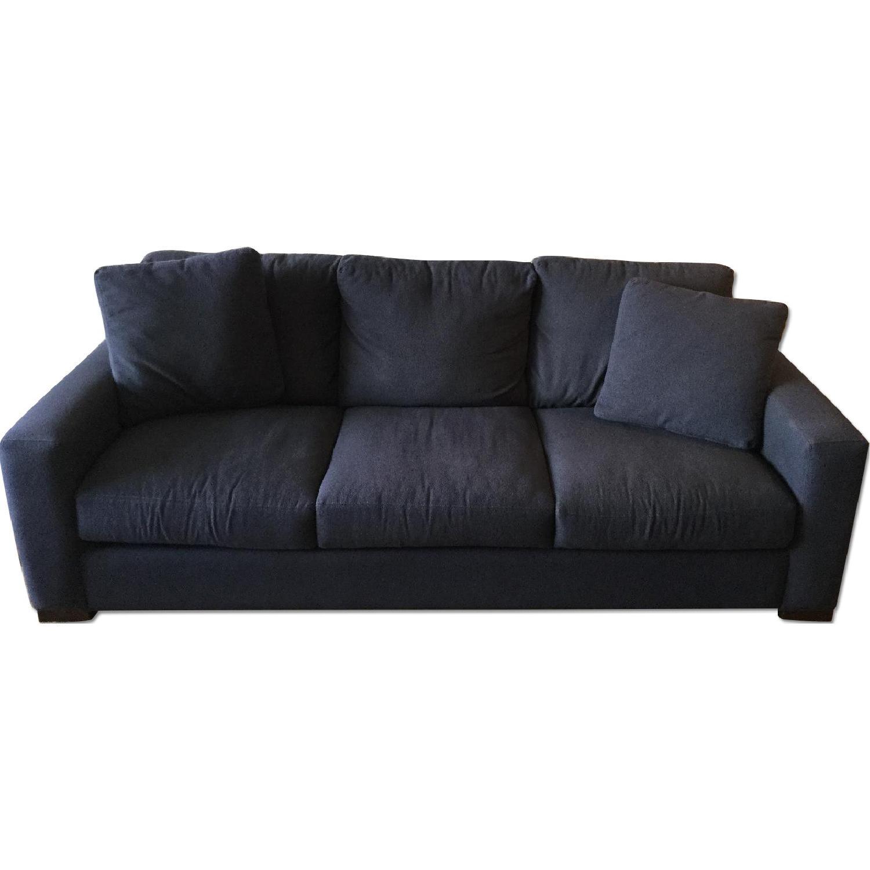 Room & Board Metro Midnight Blue Sofa - image-0