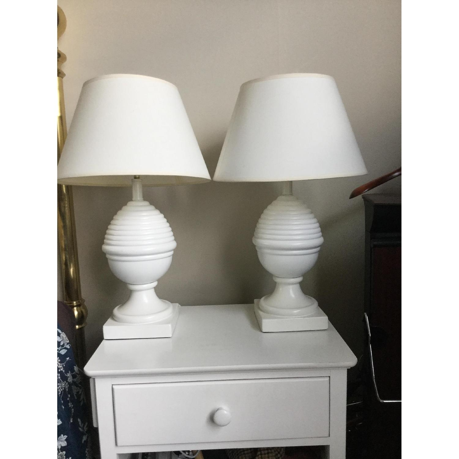 Matching White Lamps - image-1