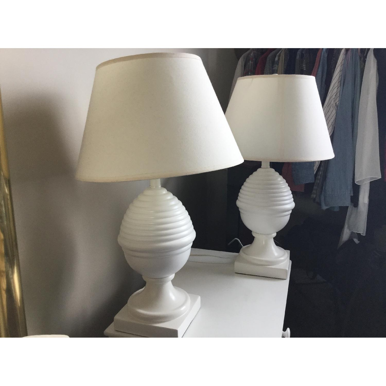 Matching White Lamps - image-2