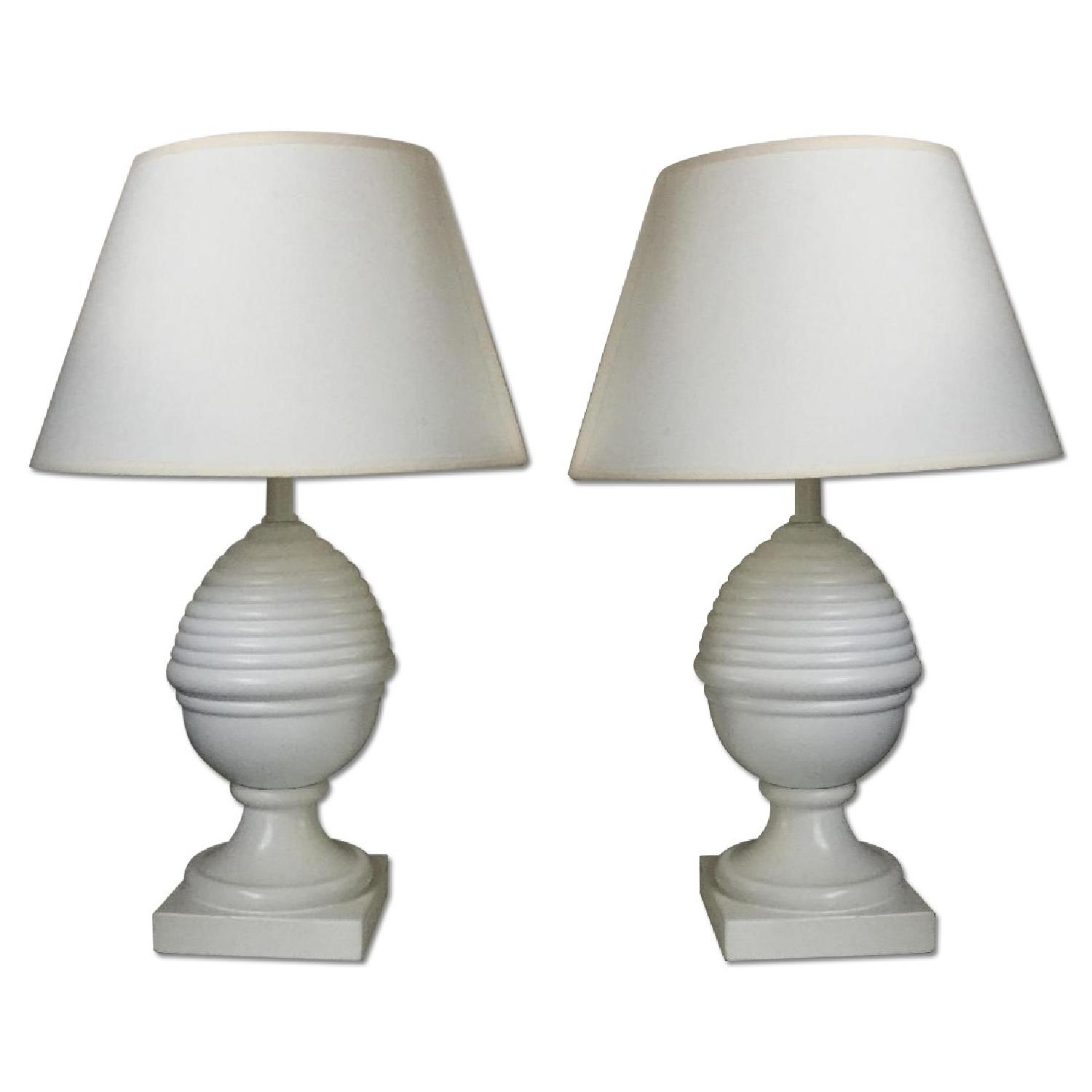 Matching White Lamps - image-0