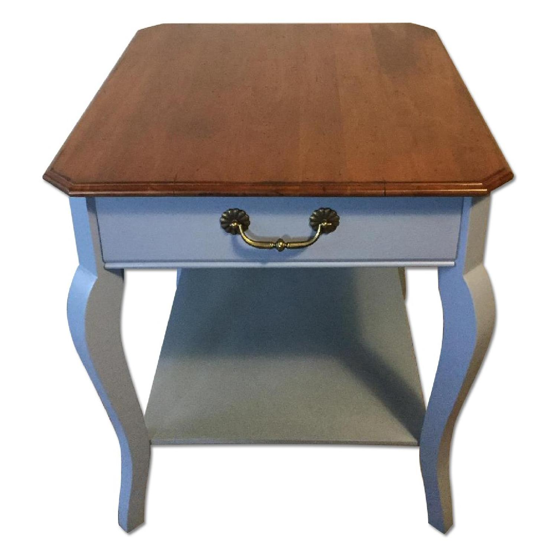 Vintage End Table - image-0