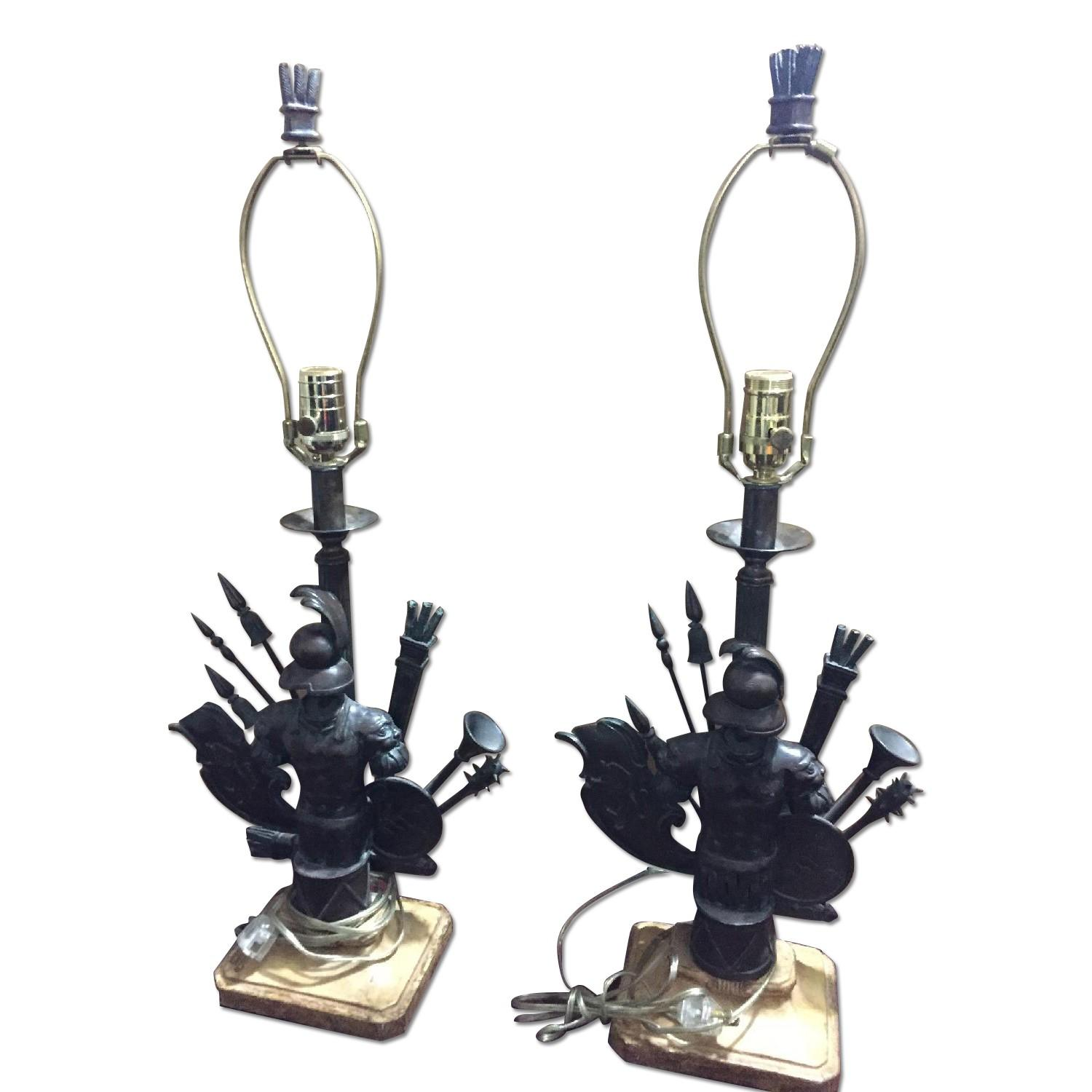 Military Table Lamps - image-0