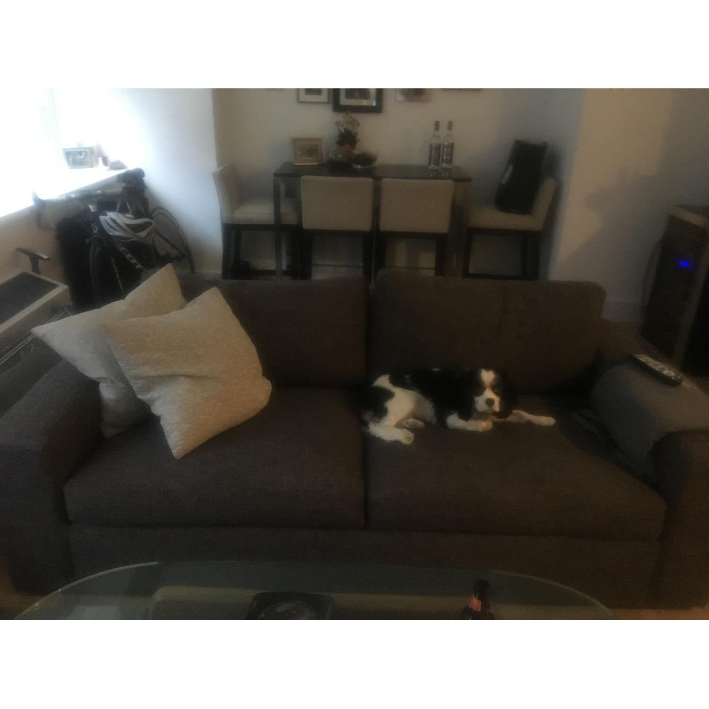 Room & Board Grey/Charcoal Sofa - image-1