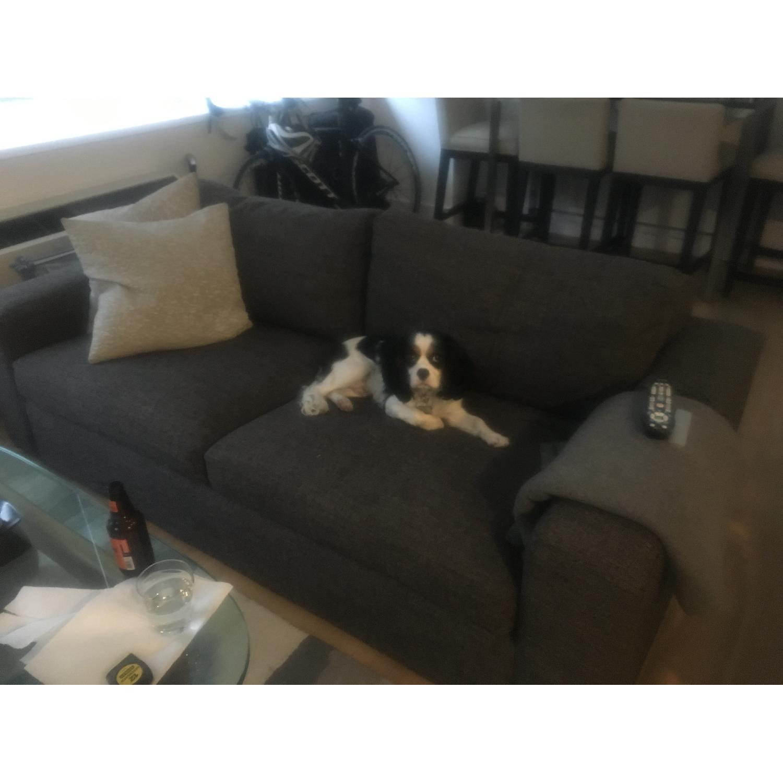 Room & Board Grey/Charcoal Sofa - image-2