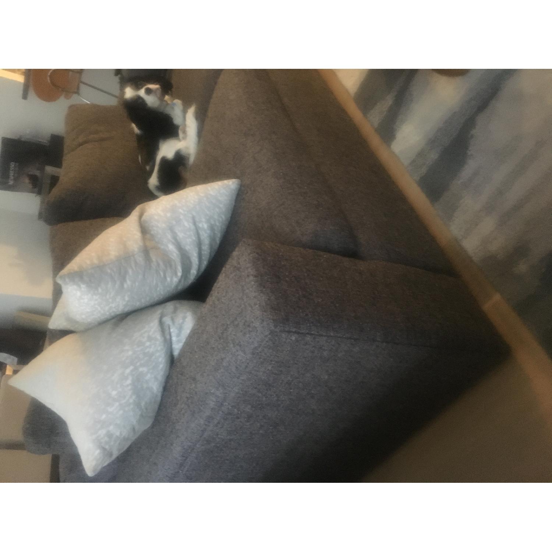 Room & Board Grey/Charcoal Sofa - image-3
