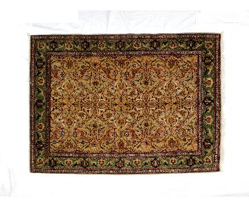 Vintage Leon Banilivi Hereke Carpet