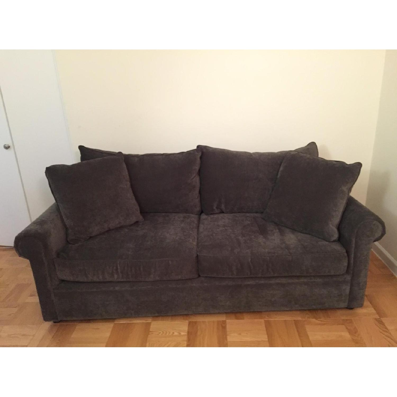 Bloomingdale's Ronen Grey Sofa - image-1