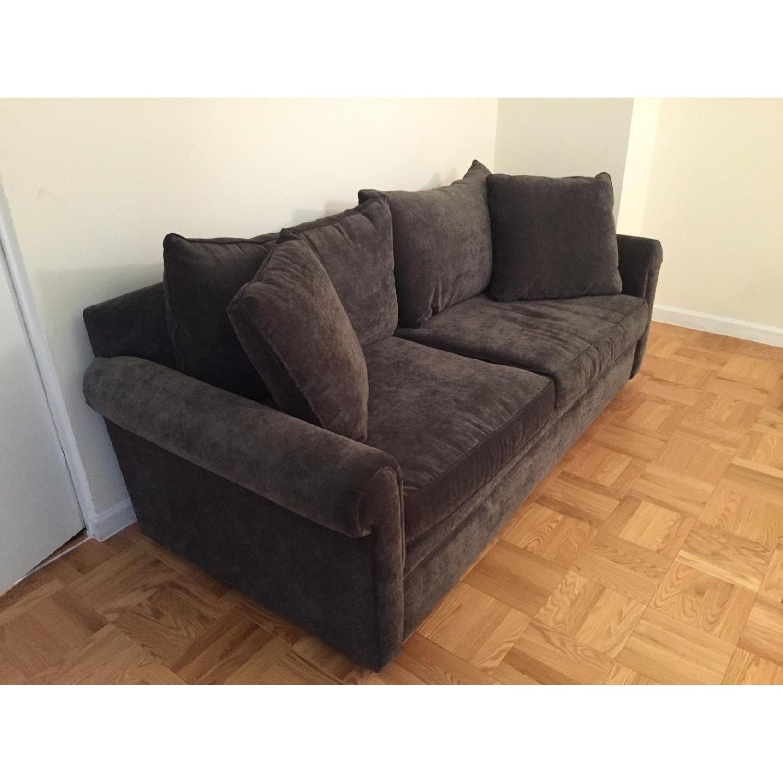 Bloomingdale's Ronen Grey Sofa - image-2