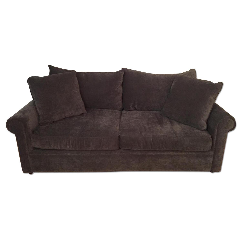 Bloomingdale's Ronen Grey Sofa - image-0