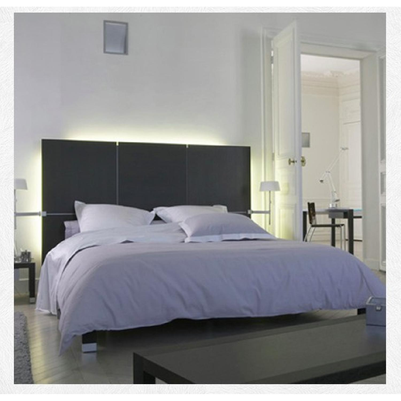Ligne Roset Lumeo Queen Bed Frame w/ Backlit Headboard - image-4