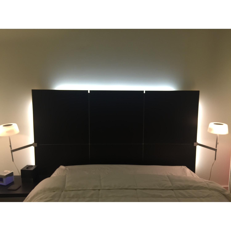 Ligne Roset Lumeo Queen Bed Frame w/ Backlit Headboard - image-6