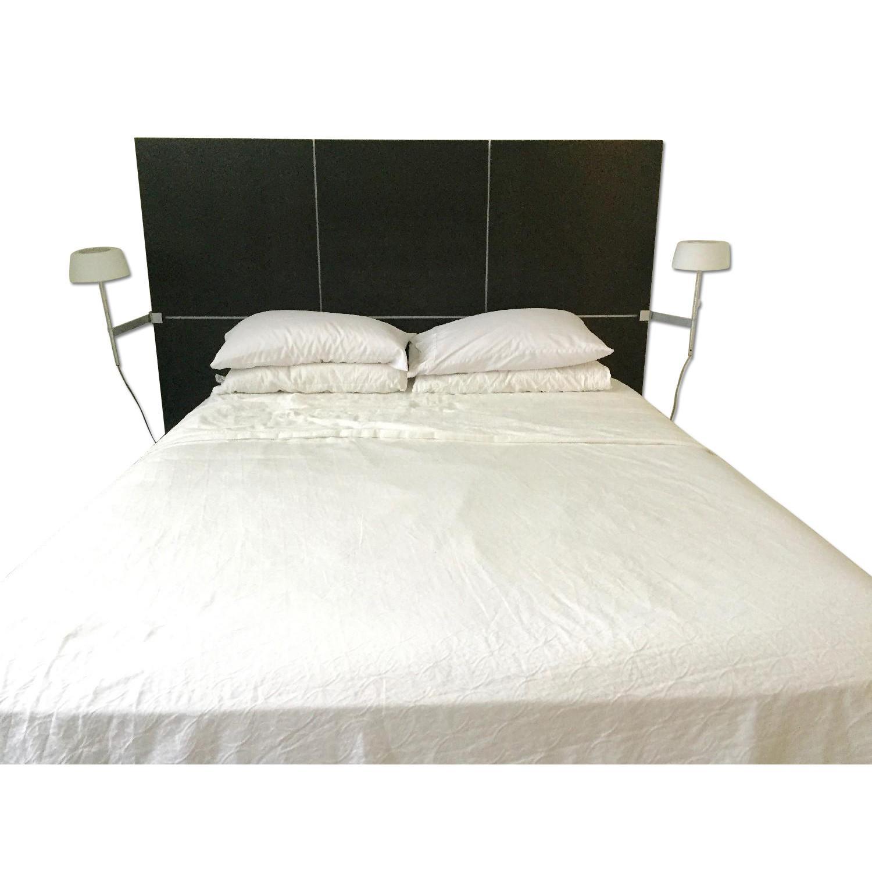 Ligne Roset Lumeo Queen Bed Frame w/ Backlit Headboard - image-0