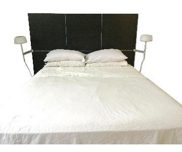 Ligne Roset Lumeo Queen Bed Frame w/ Backlit Headboard