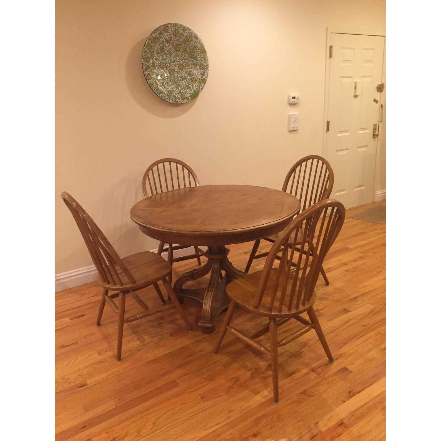 Dining Table w/ 4 Chairs - image-1