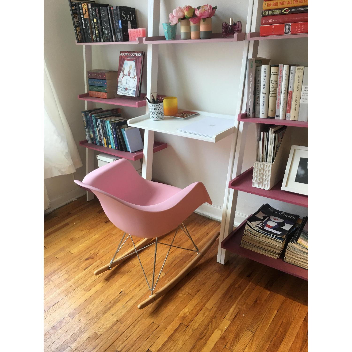 Pink Replica Eames Rocking Chair - image-1