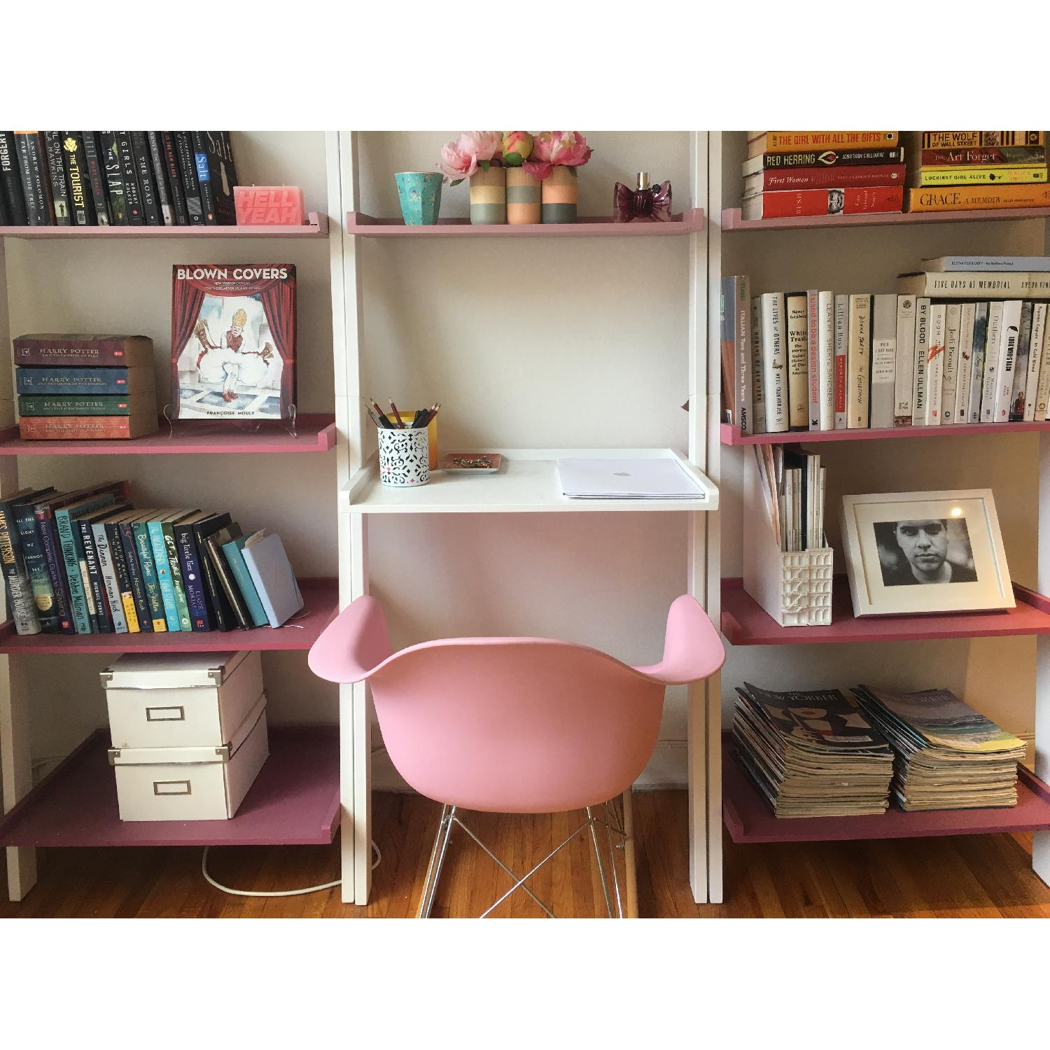 Pink Replica Eames Rocking Chair - image-3