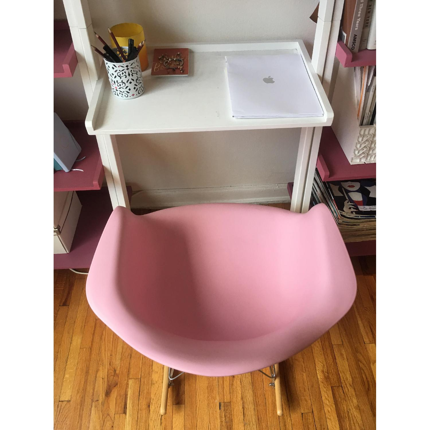 Pink Replica Eames Rocking Chair - image-4