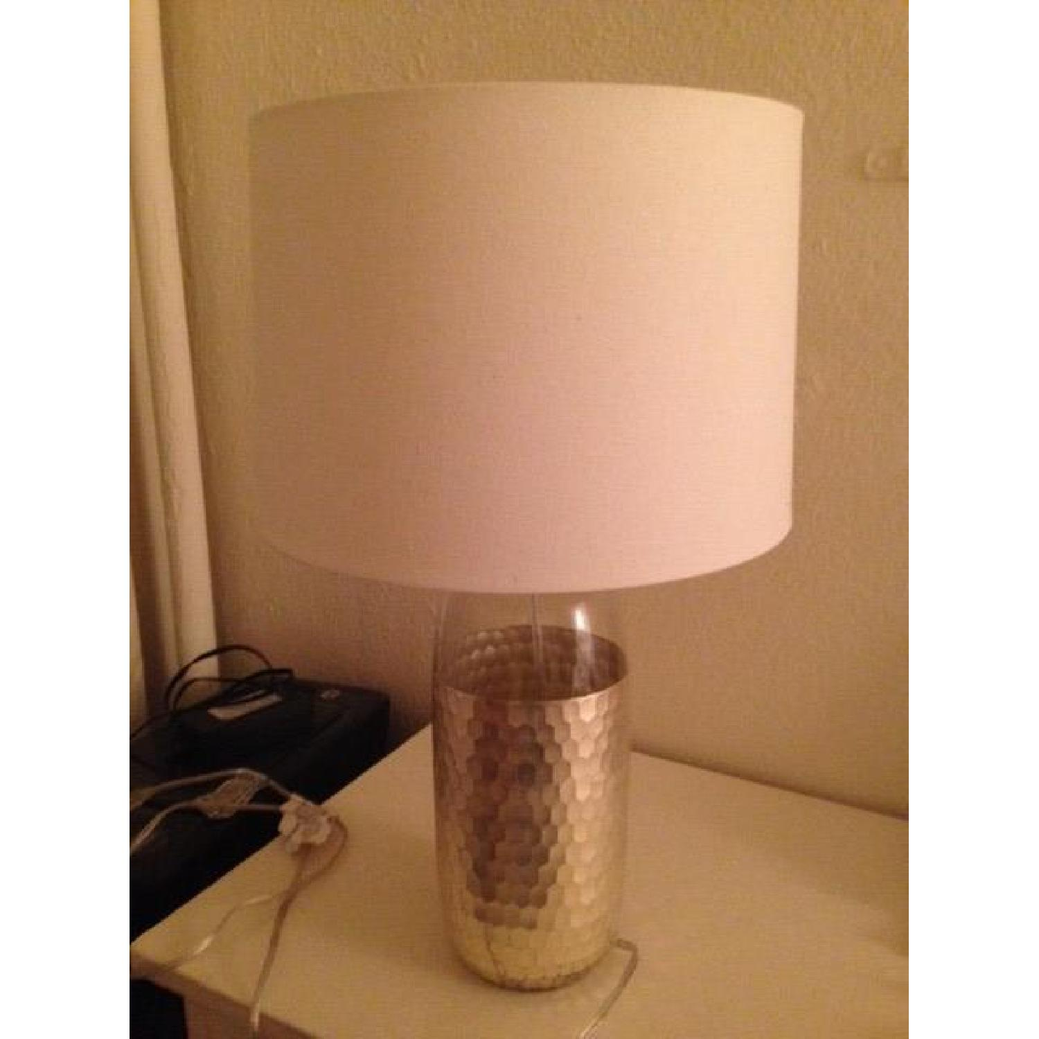 West Elm Metallic Table Lamp - image-1