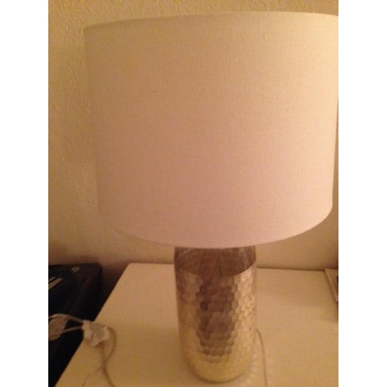 West Elm Metallic Table Lamp - image-2